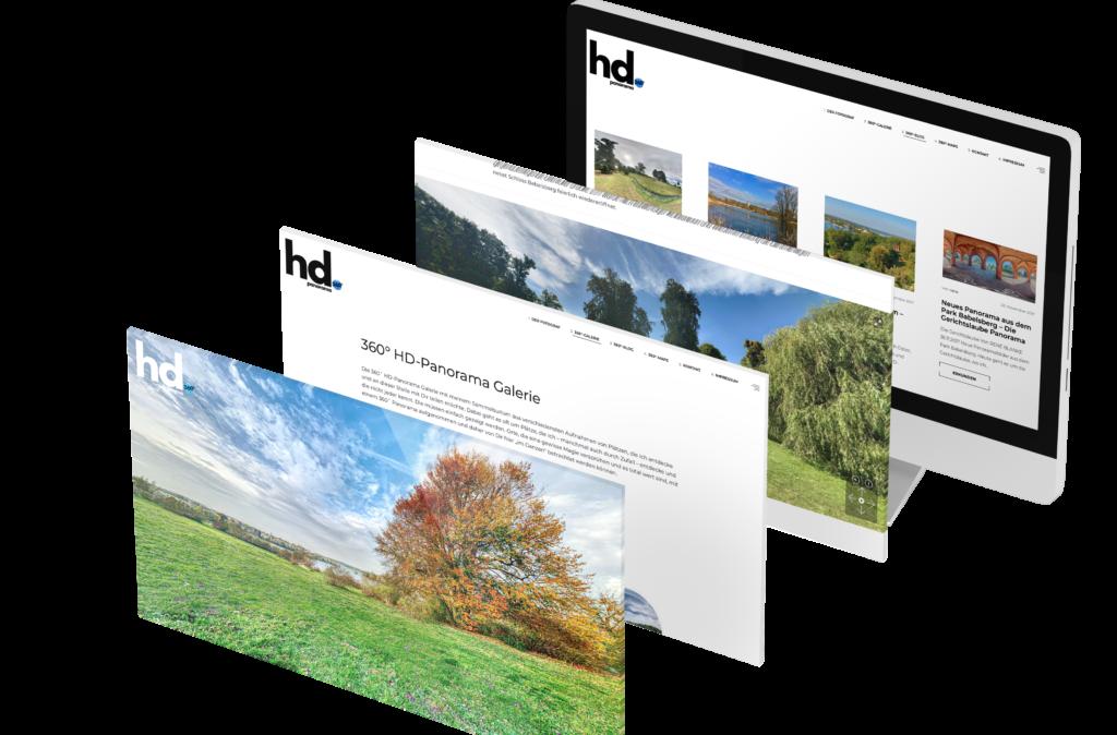 Portfolio - HD-Panorama - Homepage © Web-Kreativ WordPress Webdesign Manufaktur