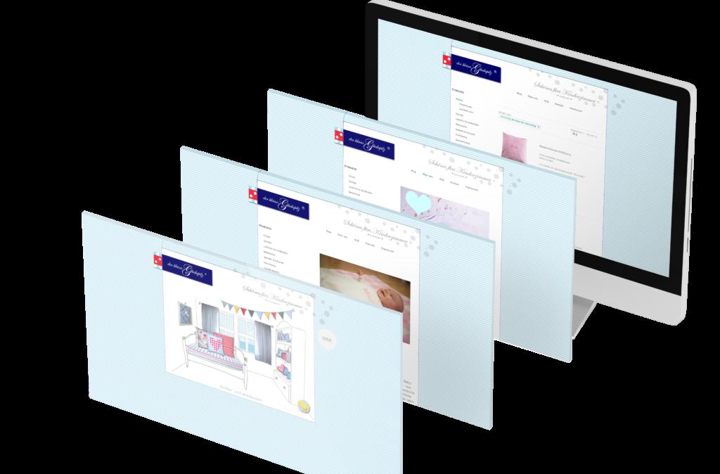 Portfolio - Der kleine Glückspilz - Homepage © Web-Kreativ WordPress Webdesign Manufaktur