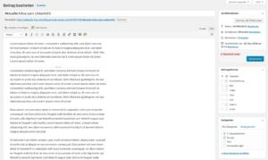 Klassenhomepage für Schulklassen - Administration eines Info-Beitrages © 2019 Web-Kreativ WordPress Webdesign Manufaktur