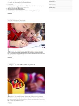 Klassenhomepage für Schulklassen nach DSGVO mit Wordpress, einfach und kostengünstig - Web-Kreativ (Homescchooling, Unterlagen, Downloads, Materialien, Lernmaterial, Corona, Covid-19)