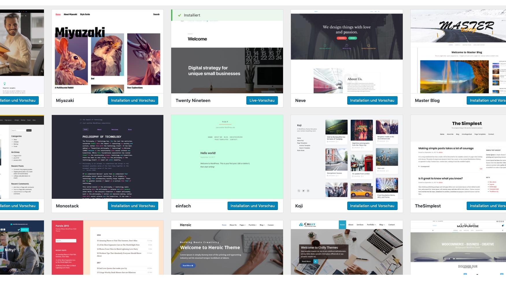 Klassenhomepage für Schulklassen - Wähle aus mehr als 3.851 Designvorlagen aus © 2019 Web-Kreativ WordPress Webdesign Manufaktur